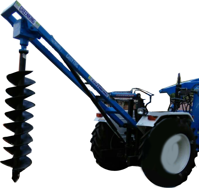 Hydraulic Post Hole Digger Manufacturers Supplier in India
